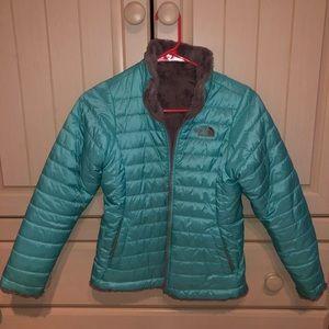 North Face Girls Reversible Jacket Size M(10/12)